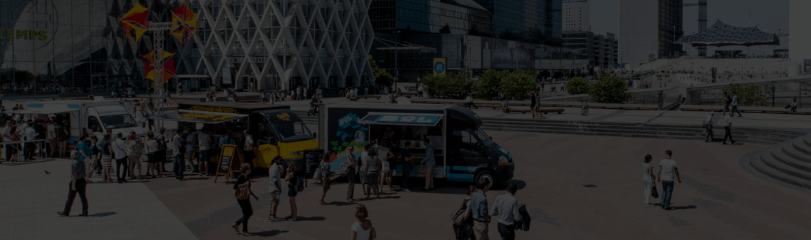 Dès le 9 mars, venez tester les food trucks de Paris La Defense saison 2020 !
