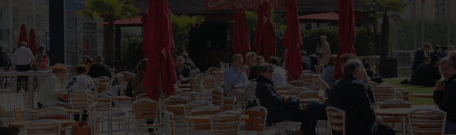 Terrasses : Paris La Défense annule les redevances d'occupation du domaine public pour les commerçants jusqu'au 30 juin 2020