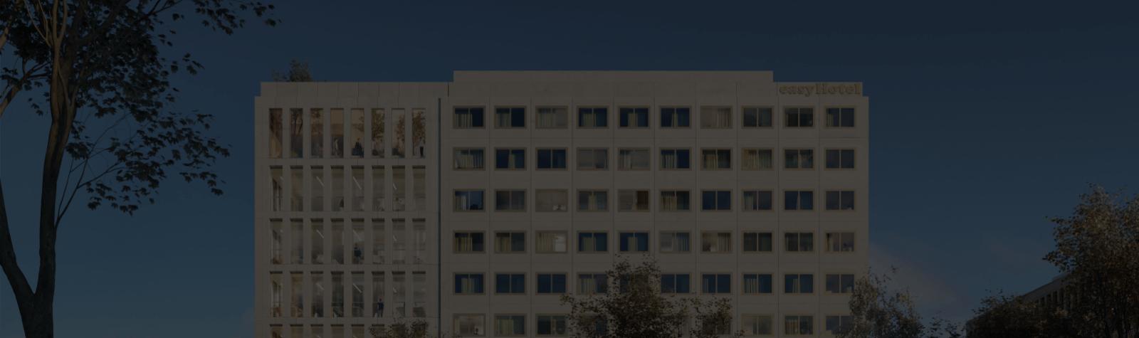 ICADE et easyHotel signent un bail pour la réalisation d'un hôtel dans le Parc des Portes de Paris, face au Campus Condorcet