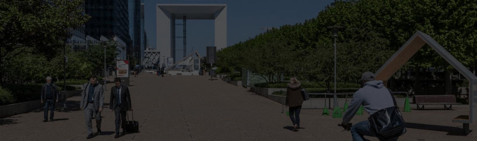 La circulation des vélos dans les voies couvertes de Paris La Défense autorisée