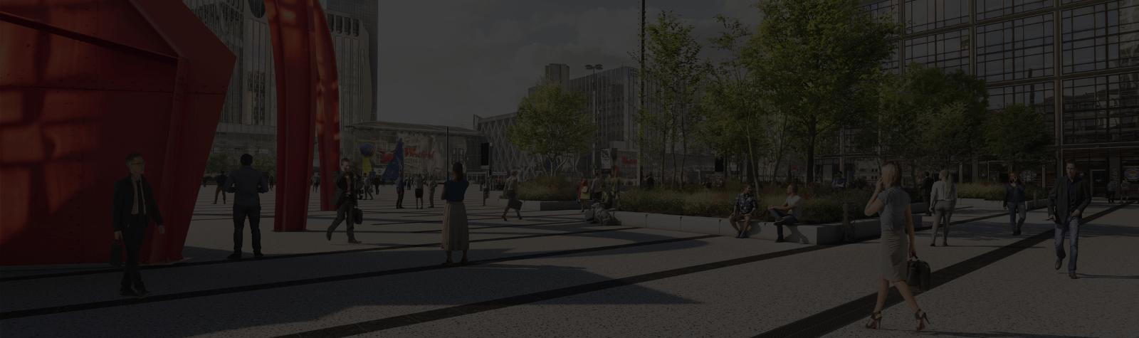 Paris La Défense lance la métamorphose en profondeur de la Place de La Défense