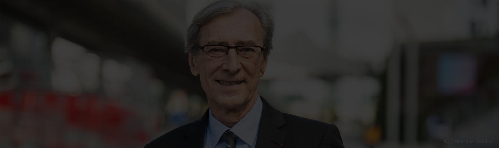 Georges Siffredi, réélu président du conseil d'administration de Paris La Défense